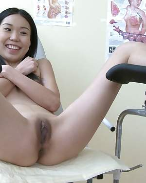 Dirty Doctor - Horny doctor's pecker examines hot Asian pussy