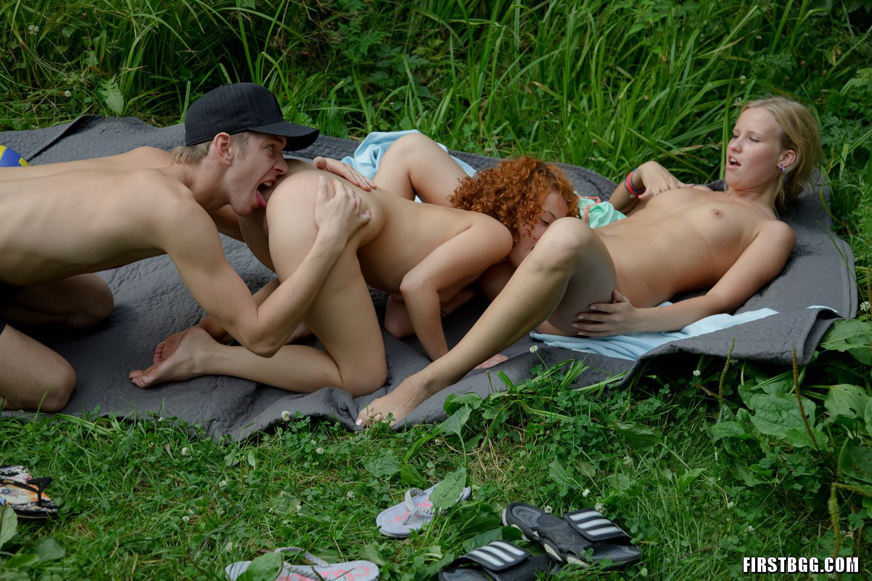 Teen Guys Outdoor Sex
